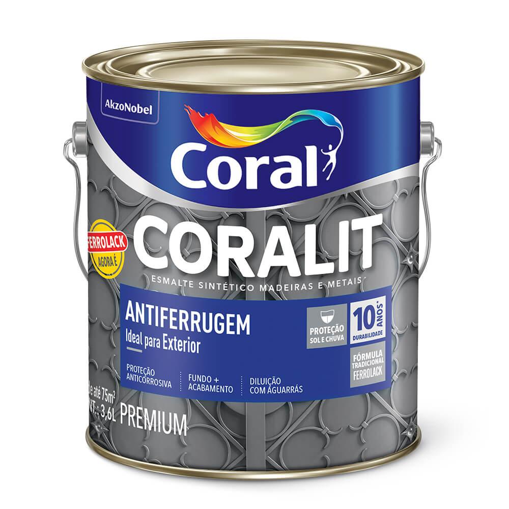 feaffeed9d1 Tinta Esmalte Coral Coralit Antiferrugem - Politintas - Politintas