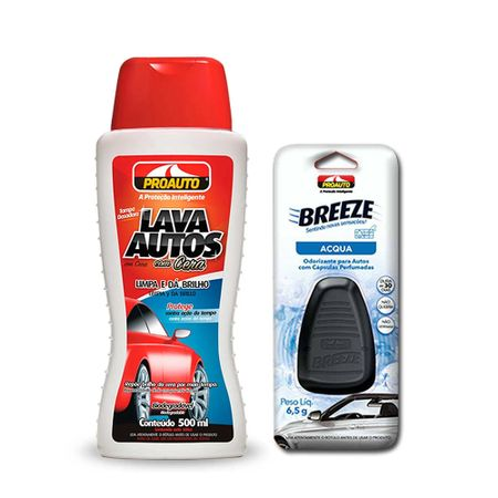 kit-automotivo-proauto-lava-autos-com-cera-500ml-com-aromatizante-para-carro-breeze-aqua-6-5g