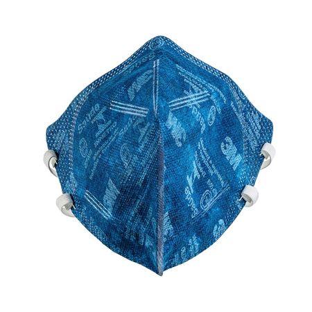 mascara-descartavel-3m-azul