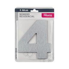 numero-resindencial-4-atlas-em-acm-escovado
