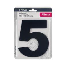 numero-resindencial-5-atlas-em-acm-preto